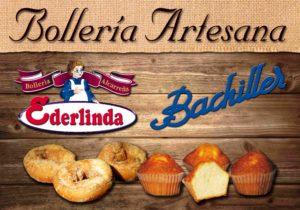 Cartel bolleria alcareña quirico-ederlinda-bachiller horche guadalajara