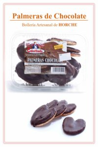 Palmeras de Chocolate bolleria ederlinda horche guadalajara