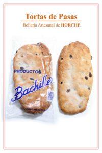 Torta de pasas bachiller bolleria horche guadalajara